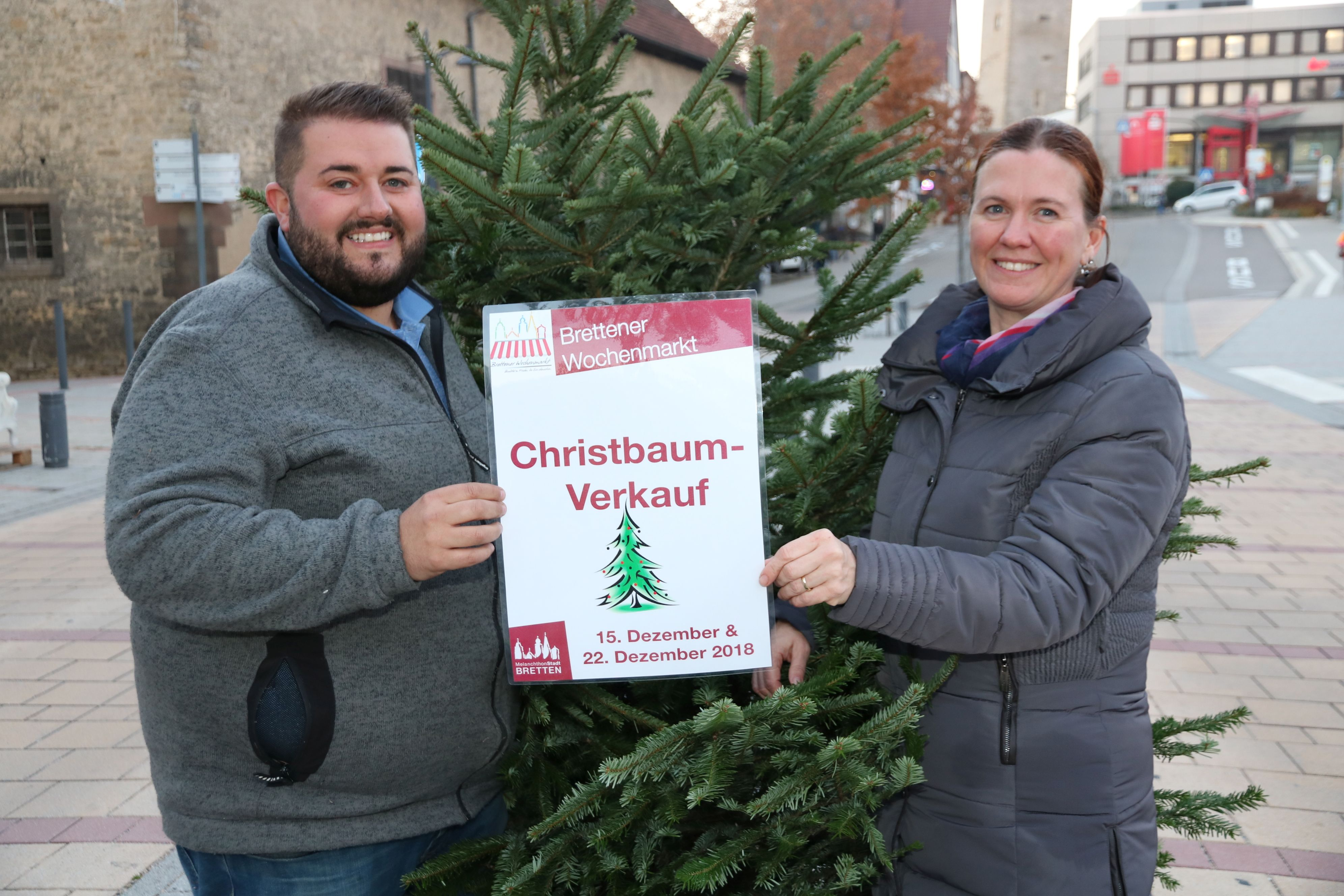 Christbaum-Verkauf