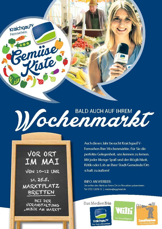 KraichgauTV - Gemüsekiste auf dem Wochenmarkt