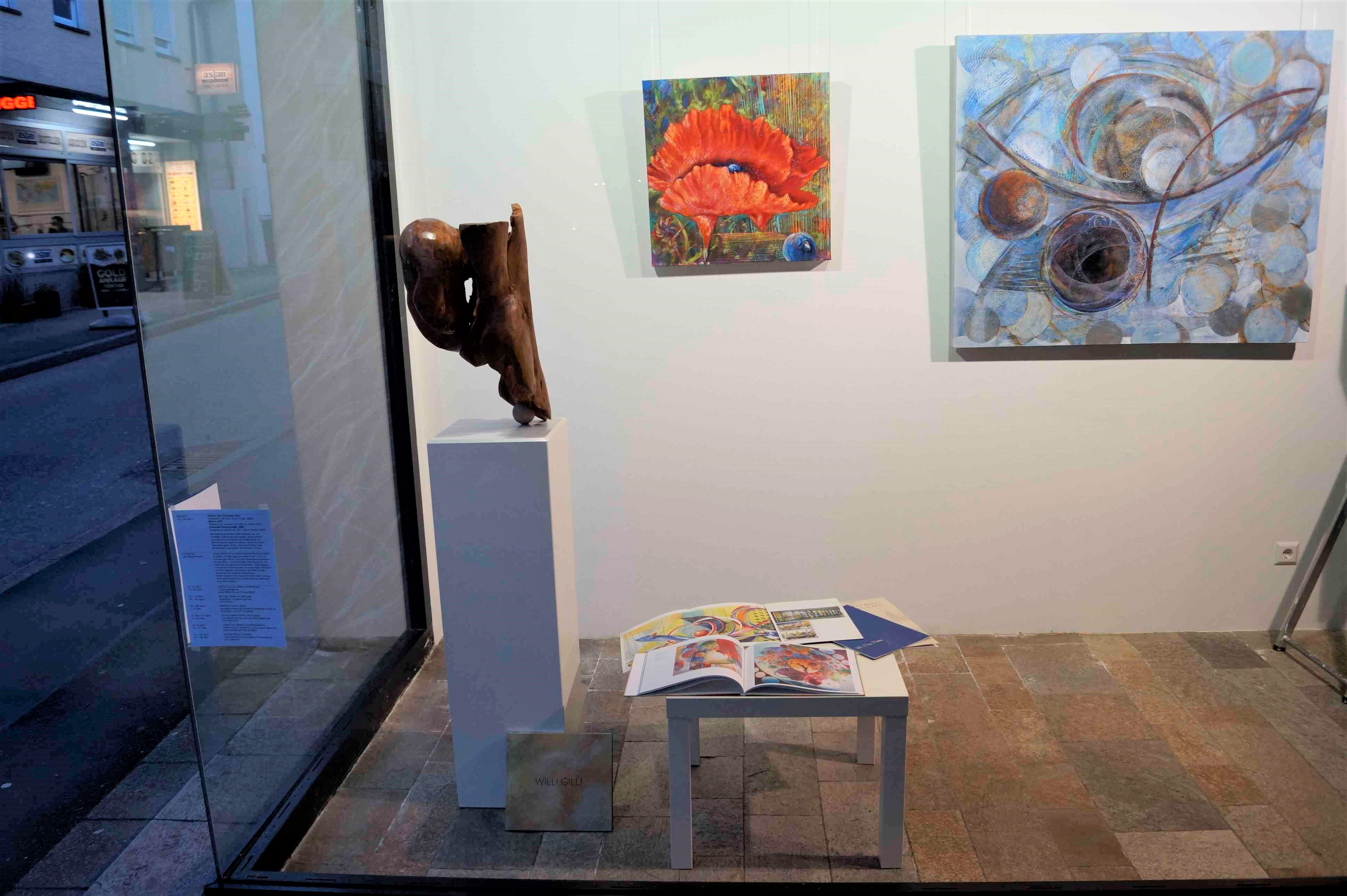 Ausstellung Willi Gilli (12. - 19. März)