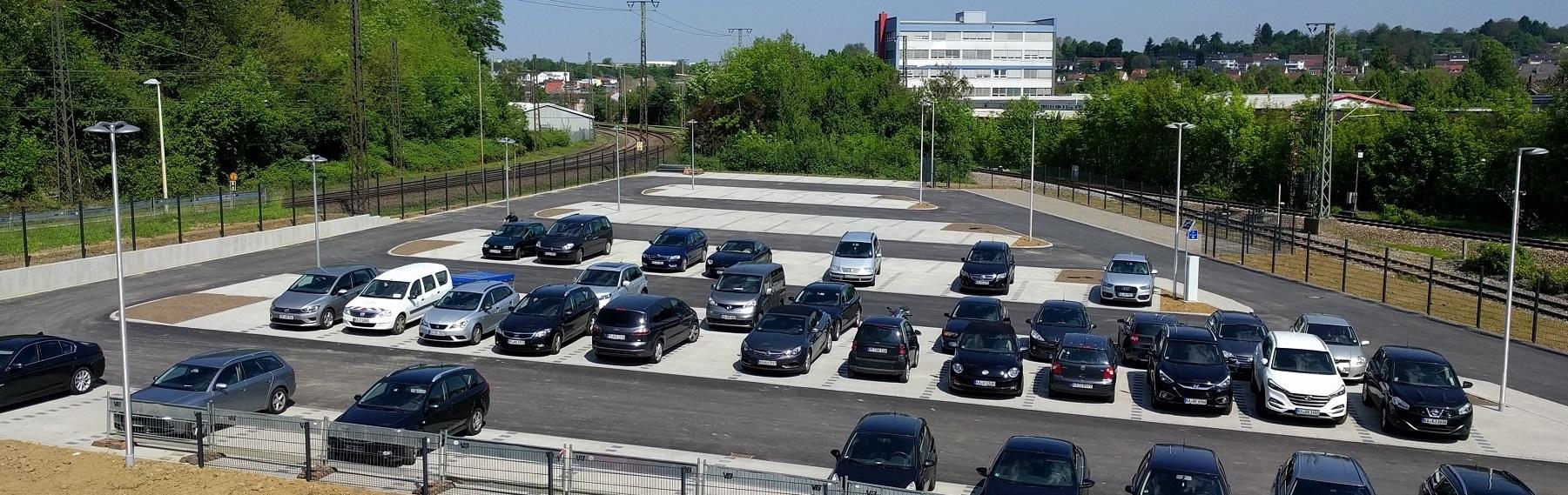 Parkplatz in der Hermann-Beuttenmüller-Straße