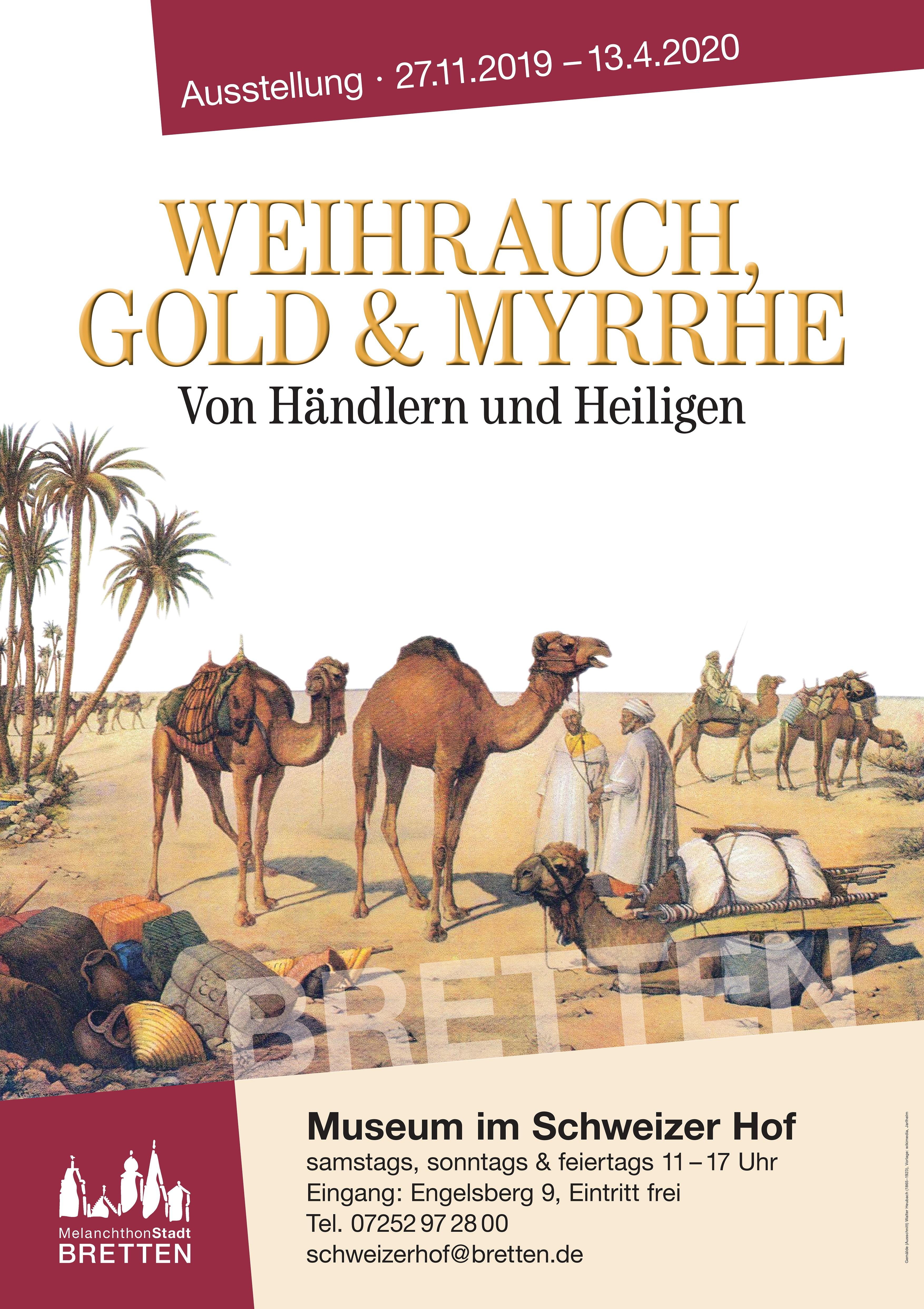 Weihrauch, Gold und Myrrhe: Von Händlern und Heiligen