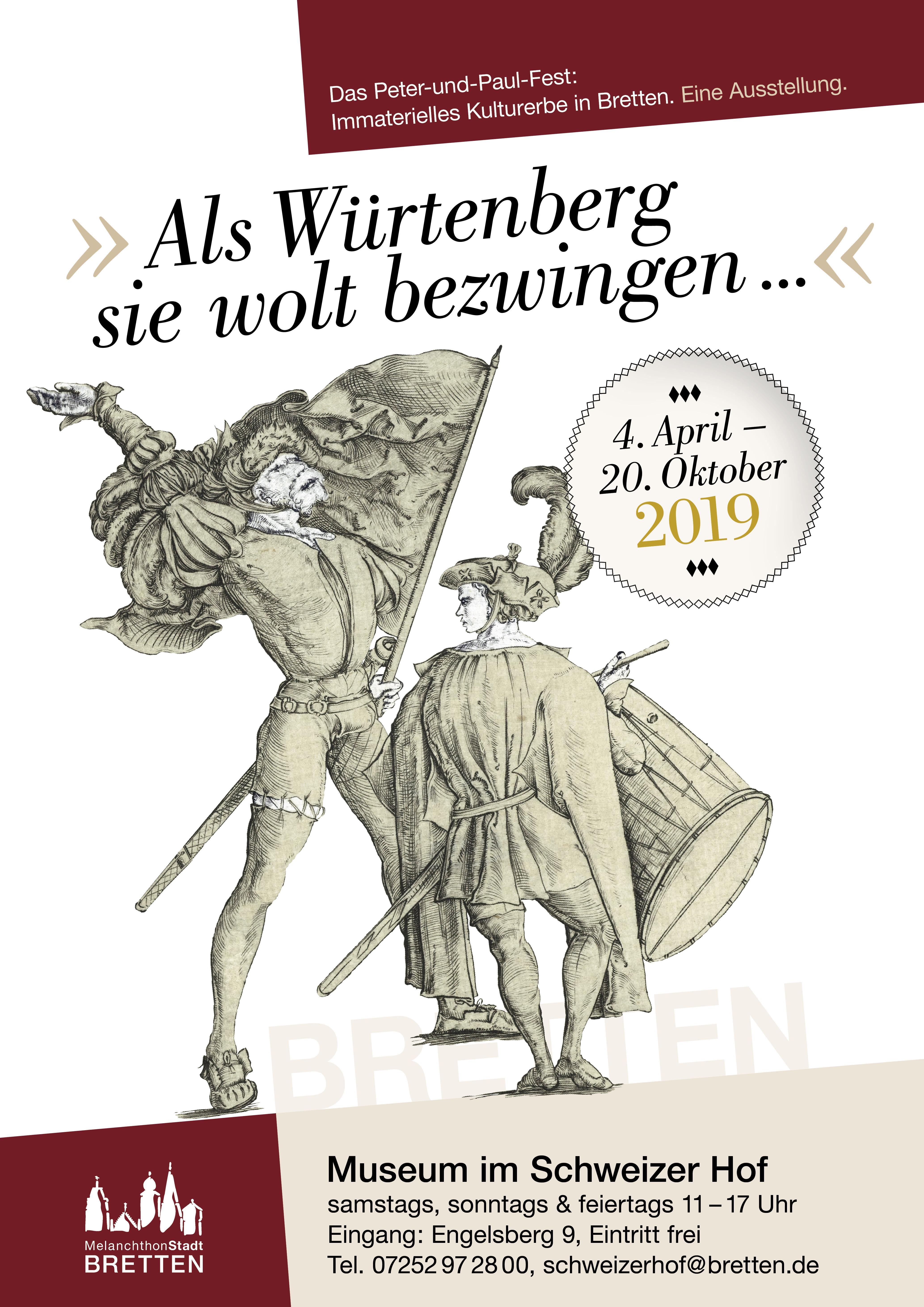 """""""»Als Würtenberg sie wolt bezwingen...«. Das Peter-und-Paul-Fest: Immaterielles Kulturerbe in Bretten."""