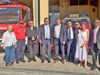 Brettener Delegation in Partnerstadt Condeixa