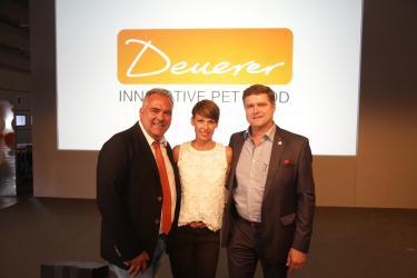 Eröffnung des neuen Logistik- und Verpackungszentrum der Firma Deuerer