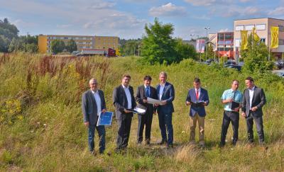Firma Südbau baut neues Dienstleistungszentrum