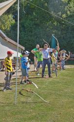 Kinderferienprogramm Bogenschießen