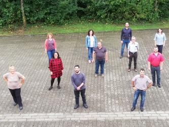Das Team der Multiplikator*innen der Stadtverwaltung Bretten