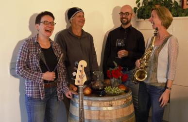 Die Mitglieder der Jazzkombüse-Kraichgau