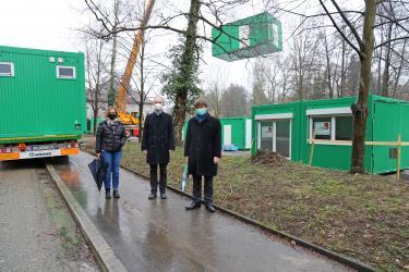 Installation der Container