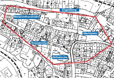 Altstadtplan Abbrennverbot Feuerwerkskörper