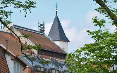 Rathaus und Kreuzkirche
