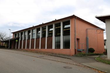 Die Jahnhalle beim Postweg