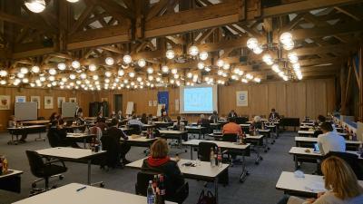 Mitglieder von Gemeinde- und Jugendgemeinderat, Ortschaftsräten und Verwaltung erarbeiteten Vorschläge für klimawirksame Maßnahm