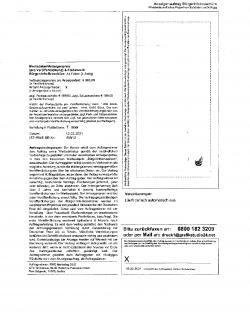 Irreführendes Fax