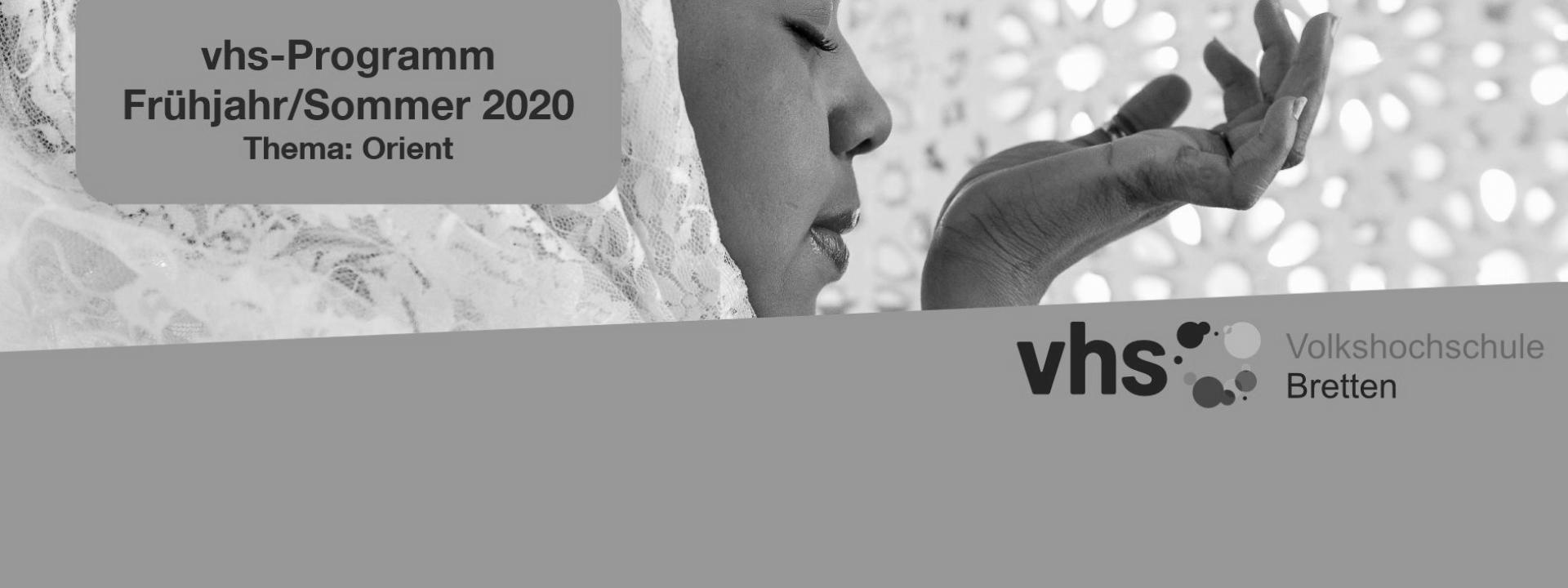 VHS Programm Frühjahr Sommer 2020