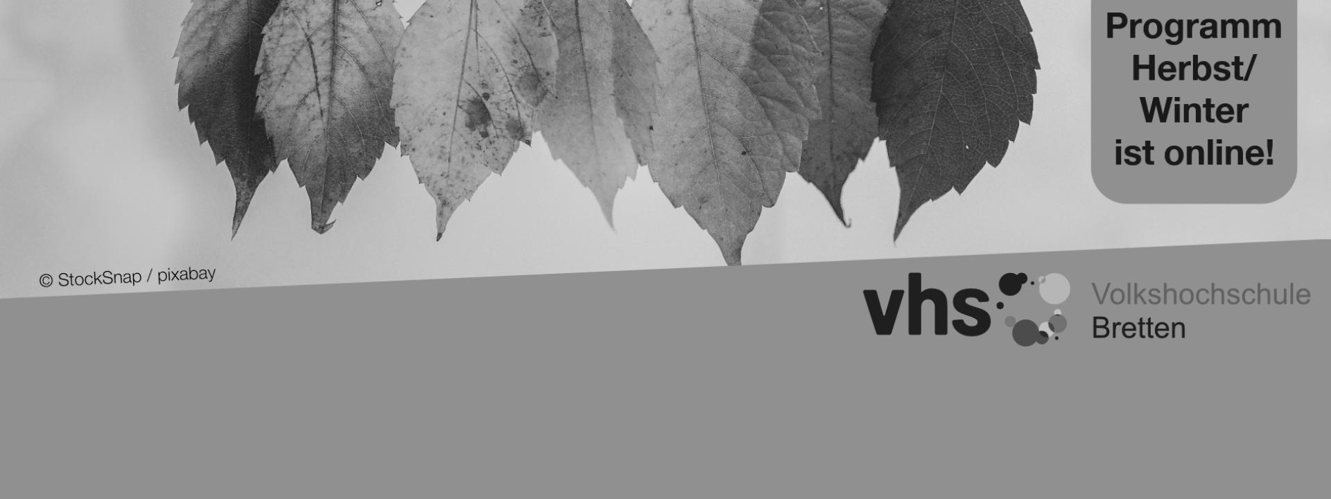 Titelbild neues vhs-Programm